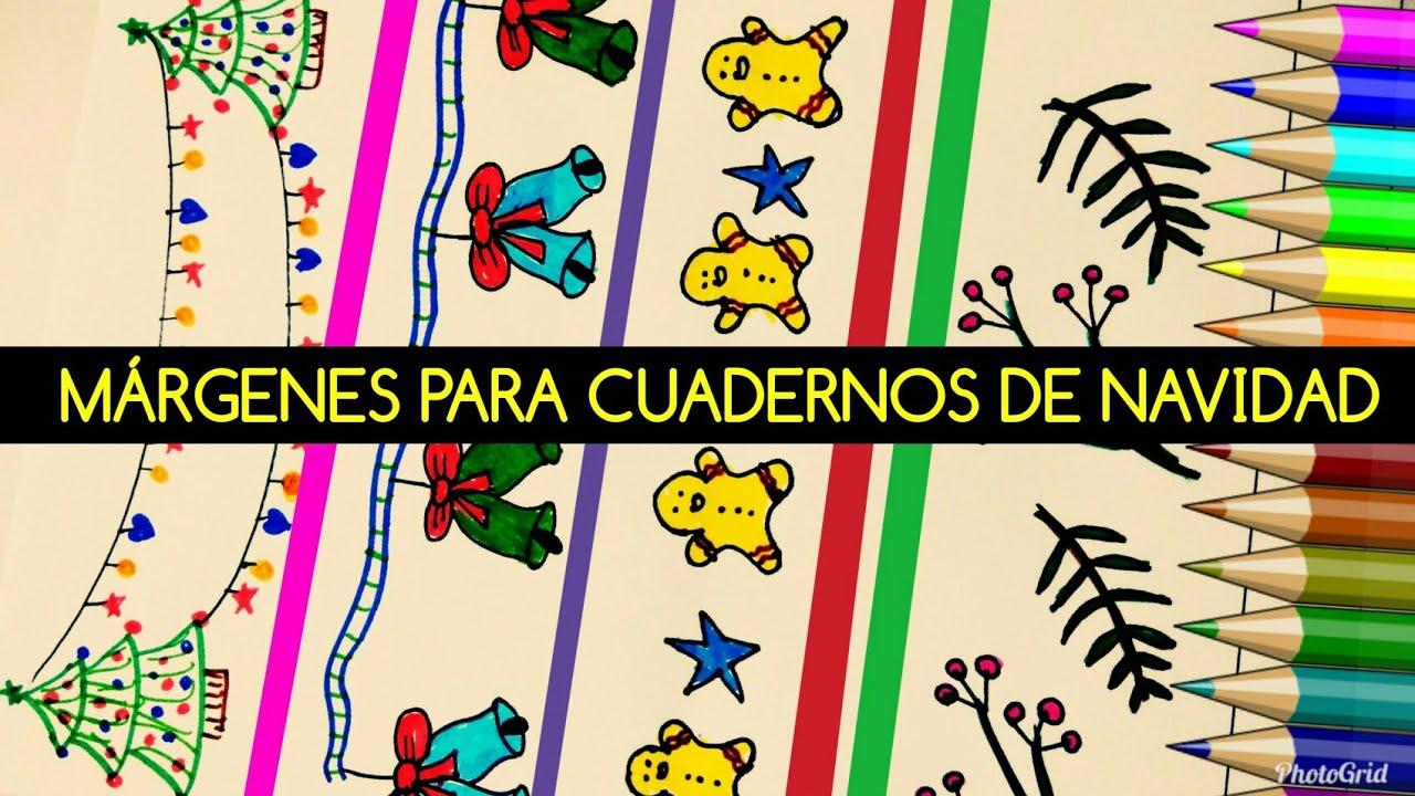 Ideas De MÁrgenes Para Decorar Cuadernos Y Libretas: BORDES Y MÁRGENES Para Cuadernos