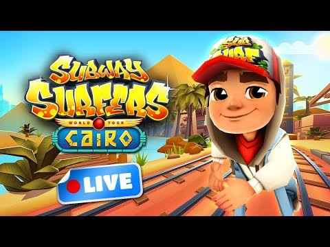 🎮 Subway Surfers World Tour 2017 - Cairo Gameplay Livestream