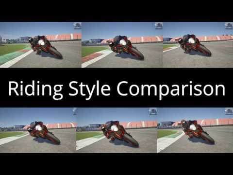 ride 3 riding style comparison xbox one x youtube. Black Bedroom Furniture Sets. Home Design Ideas