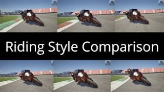 RIDE 3 | Riding Style Comparison (Xbox One X)
