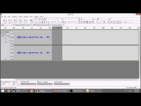 Audacity Tip - How to Batch Processing Effects