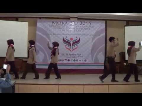 Demonstrasi Pramuka MOKA-KU UPI Serang 2015