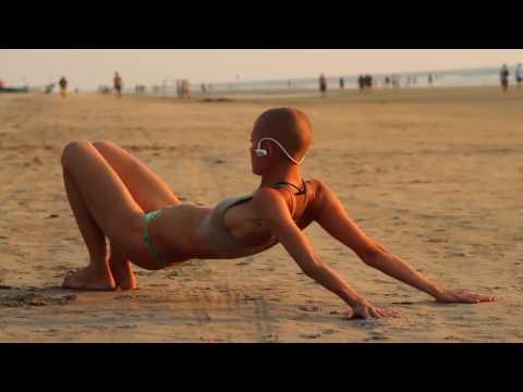Yoga on the Beach of India