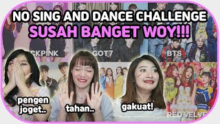 Nyanyi=Dihukum! Try Not to Sing Along KPOP songs Challenge || ft @USTADCHEN  & @Jinjuyaa : OfCOS TV