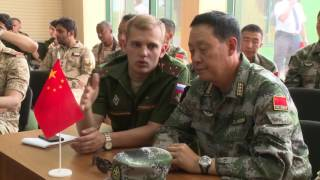 Жеребьёвка команд по Танковому биатлону и Суворовскому натиску