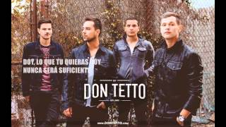 DON TETTO  Me odia, me ama (lyrics)