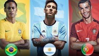 ЛУЧШИЕ ИГРОКИ СБОРНЫХ l FIFA 18 WORLD CUP MODE