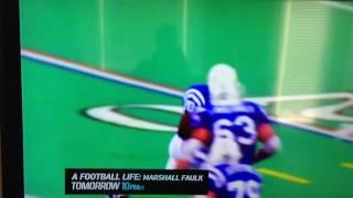 Marshall Faulk football life highlights