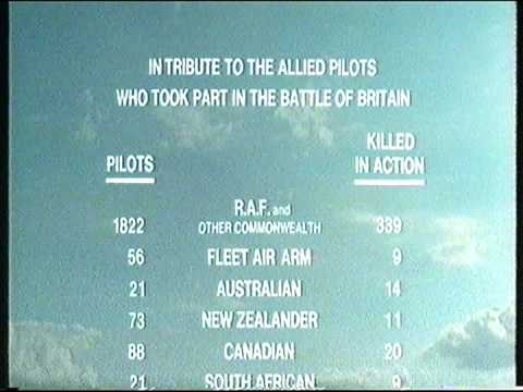 Battle of Britain Theme & Credits VHS Version