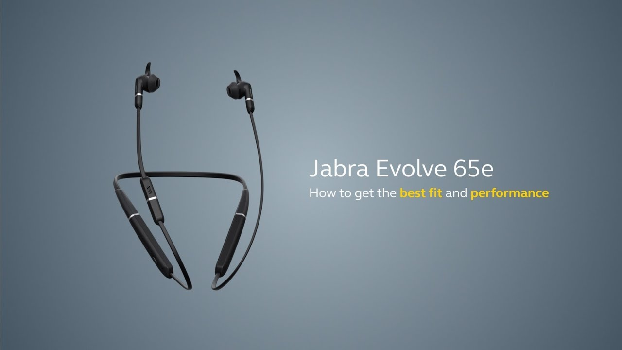 Jabra Evolve 65e How To Pair And Connect Youtube