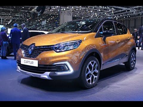Renault Captur Restylée - salon de Genève 2017