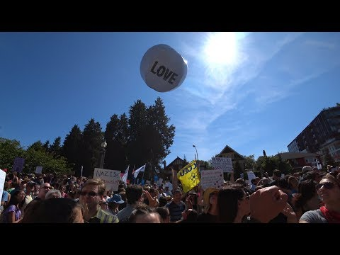 Seeing A Vancouver City Hall Anti-Immigration Protest A Wacky Day With Friends And Drone Video Edit