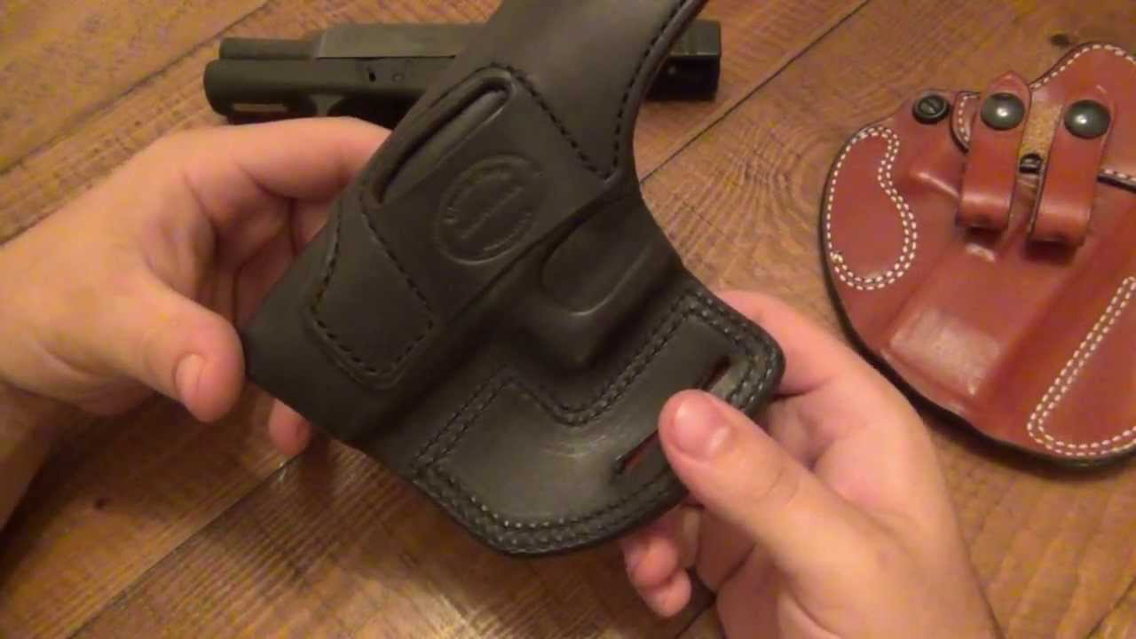Gun Holster Review : Clark Fork Leather (Affordable Custom Work)