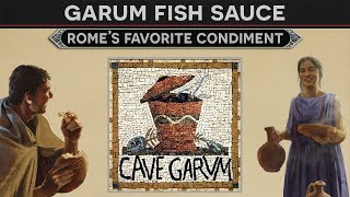 Garum, Rome's Favorite Condiment (Ancient Cooking)