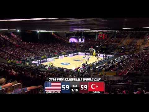 Turkey vs United States FIBA World Cup 2014 Group C