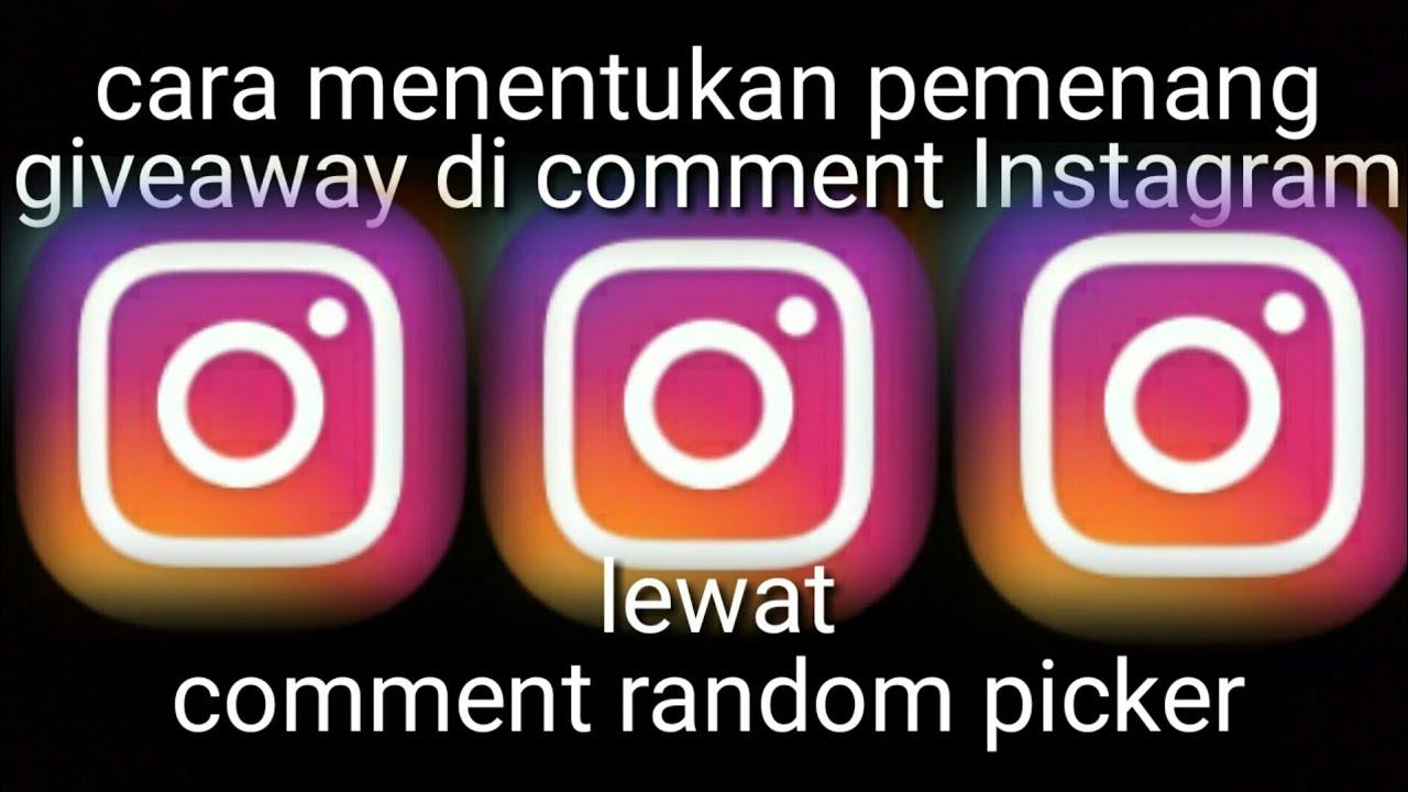 random picker instagram