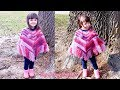 Descargar Escuchar y descargar Crochet Toddler Poncho | Pretty in Pink 💖💗💖 | Bag o day crochet tutorial #535