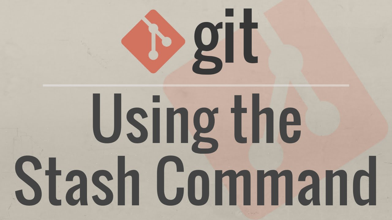 Git Tutorial: Using the Stash Command
