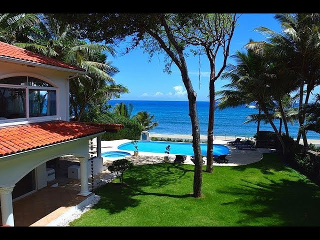 Luxus Villa direkt am Strand – Sosua Dominikanische Republik