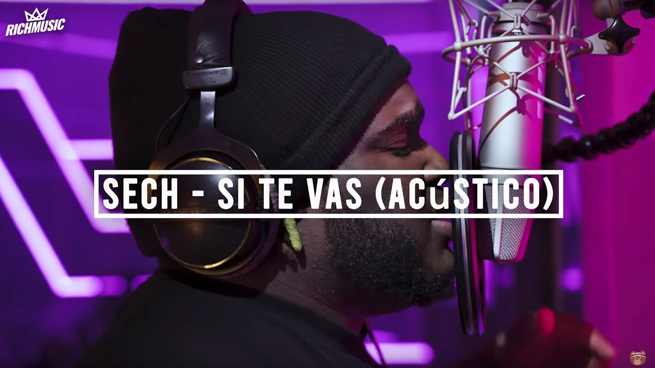 Sech Ozuna Si Te Vas Lyrics Genius Lyrics