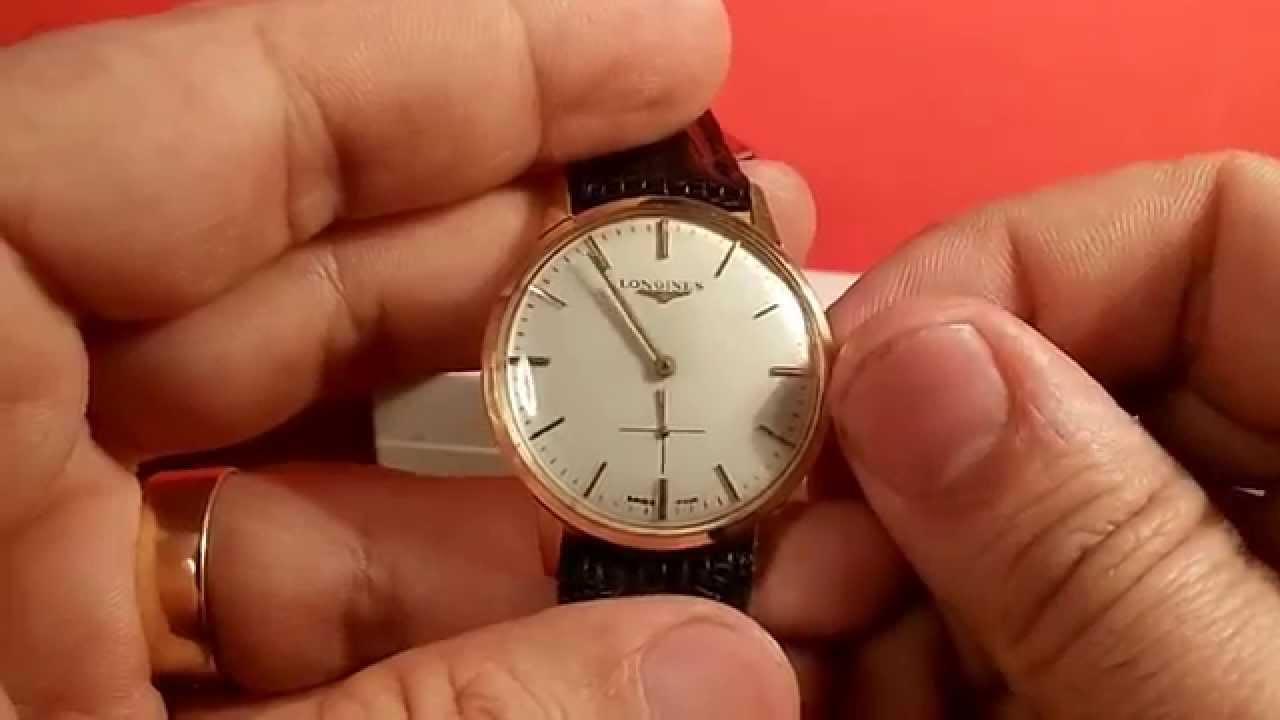 517c41ca933e Reloj de caballero Longines en oro macizo de 18k. del año 1967 ...