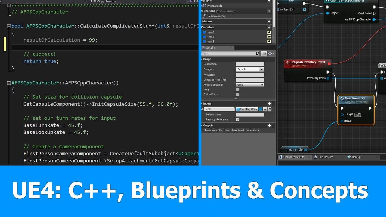 Unreal engine c blueprints programming concepts youtube unreal engine c blueprints programming concepts malvernweather Images