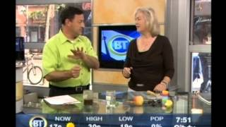 Susan Collins explains dowsing on BREAKFAST TV