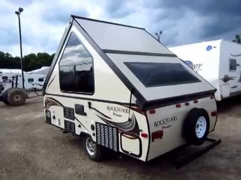 haylettrvcom 20155 rockwood hardside a122 a frame popup camper youtube