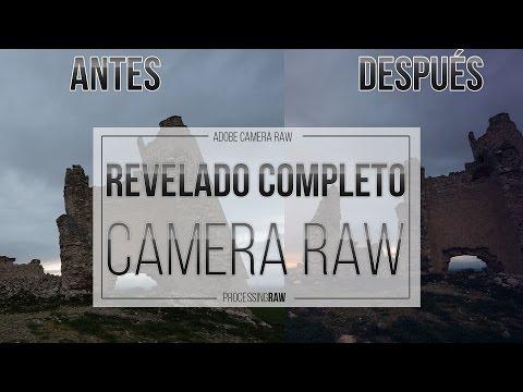 Aprende a revelar un RAW paso a paso en Camera RAW