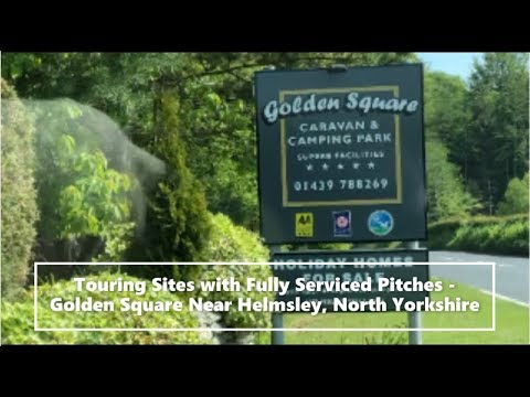 Touring Sites With Fully Serviced Pitches - Golden Square Near Helmsley, North Yorkshire