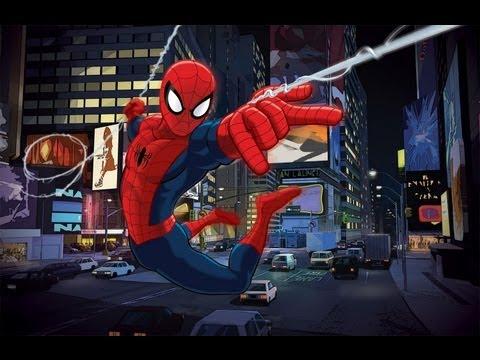 Ultimate spider man - Тук, тук, тук я человек паук