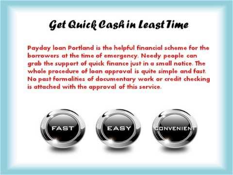 Видео Payday loans portland oregon