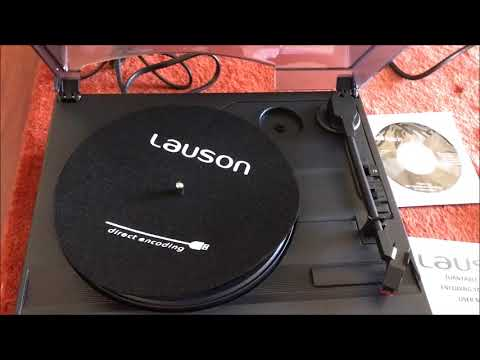 Lauson CL502 Record Player Review -Convert Old Records