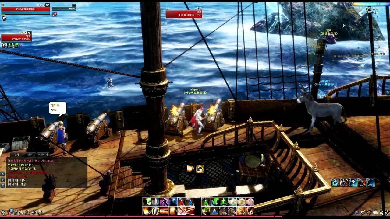 Видео ArcheAge Online The Kraken Rampaging Battle