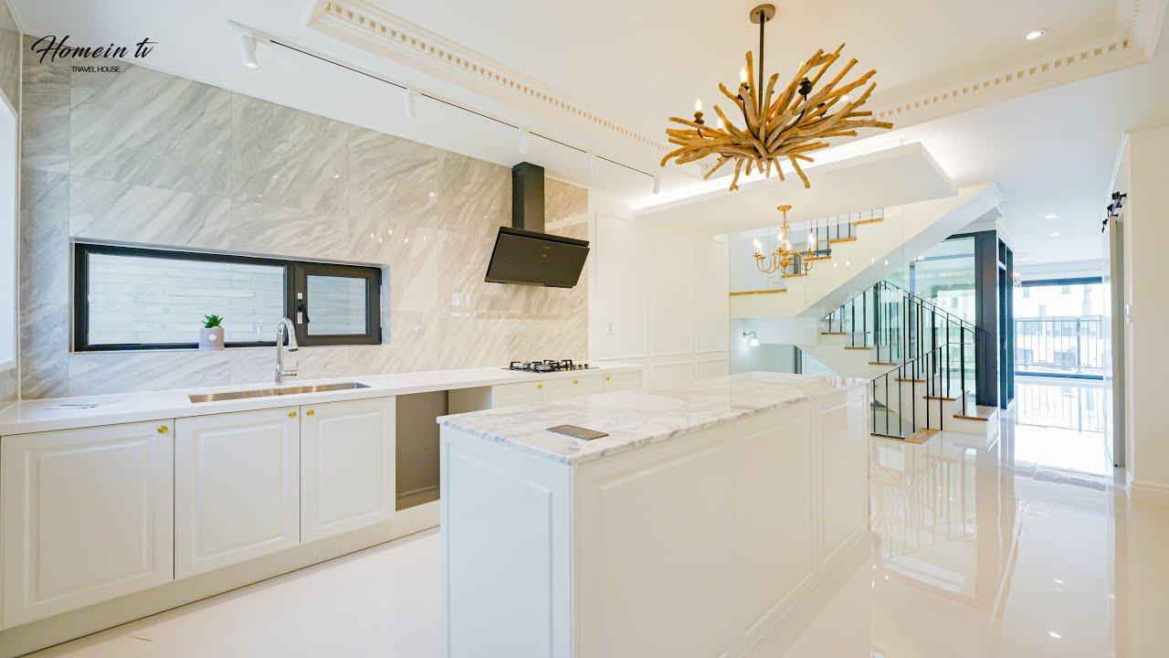 생활 인프라가 좋은 위치, 프렌치 인테리어 예쁜 단독주택 Pretty French Interior House
