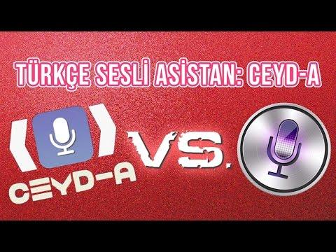 Türkçe Sesli Asistan: CEYD-A