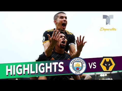 Manchester City vs. Wolverhampton 0-2 Goals & Highlights | Premier League | Telemundo Deportes