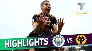 Manchester City vs. Wolverhampton 0-2 Goals & Highlights | Premier League