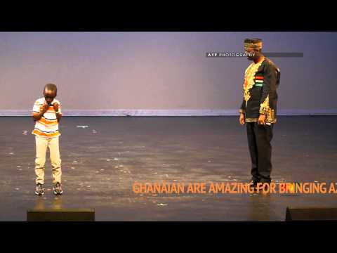 Kid dance Azonto at GHANA MOST BEAUTIFUL 2013 CANADA