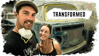 Our Incredible VW Bus Transformation!
