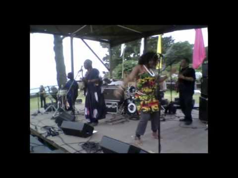 Joan Baez celebration with Danjuma & Onola - I Love You - Big Sur - Oct 3rd 2012