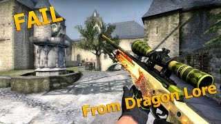 Фейл с Dragon Lore