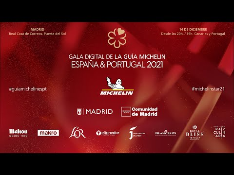 Gala de la Guía MICHELIN España & Portugal 2021 - MICHELIN Star Revelation Spain & Portugal 2021