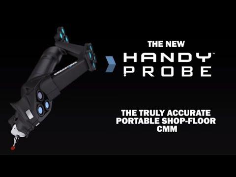 Optical Portable CMM: HandyPROBE Next