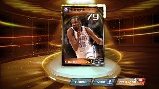 NBA All Net - Legendary Kevin Durant Card Draw + Attributes (iOS & Google Play App)