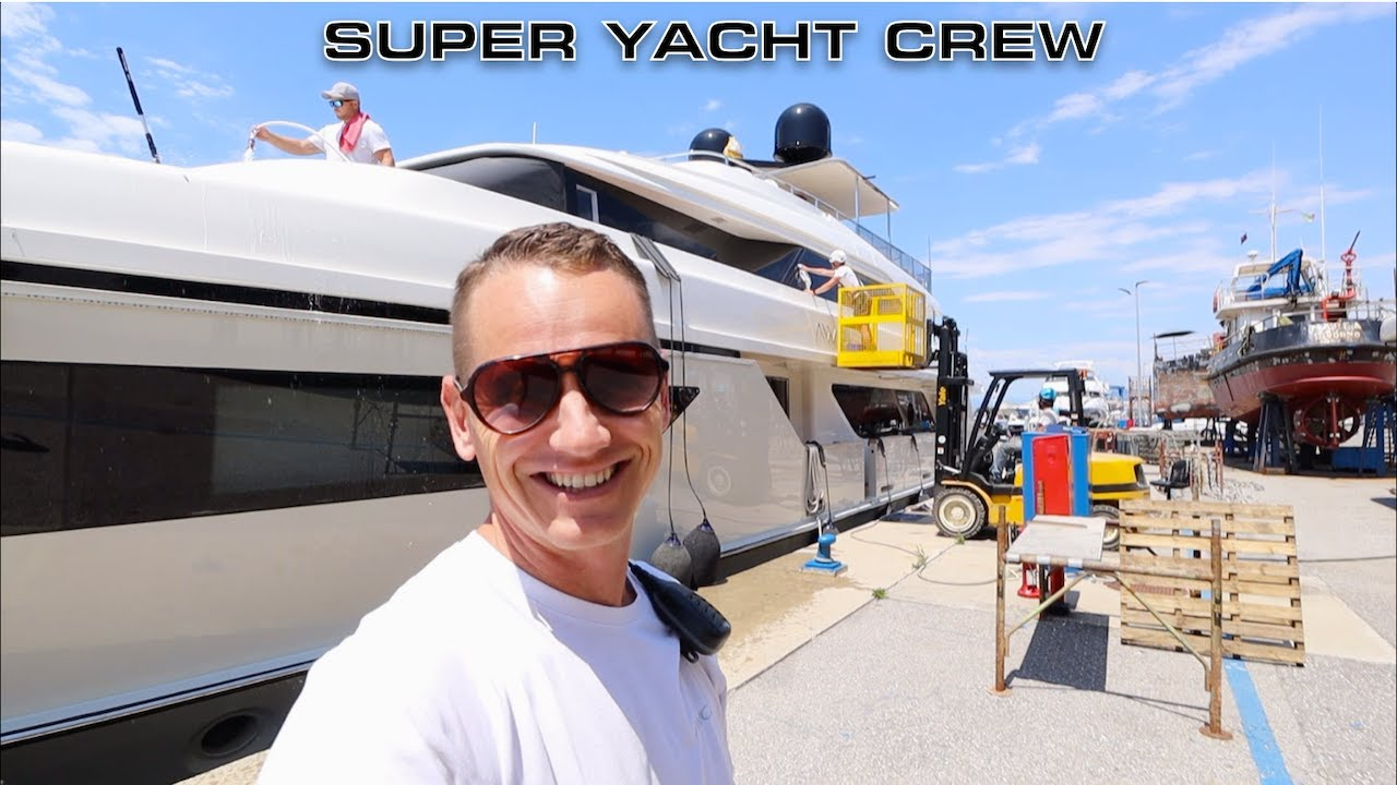 Working On A Luxury Super Yacht (Captain's Vlog 150)