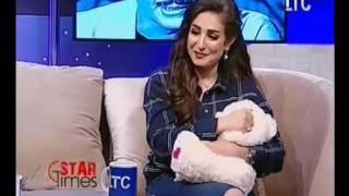 فيديو ..لمي نجلة الفنانه امل رزق تفسخ خطوبتها من الفنان محمد الشرنوبي عالهواء