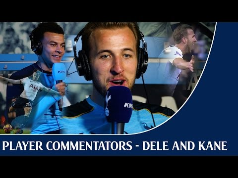 Dele Alli and Harry Kane become football commentators for the day!