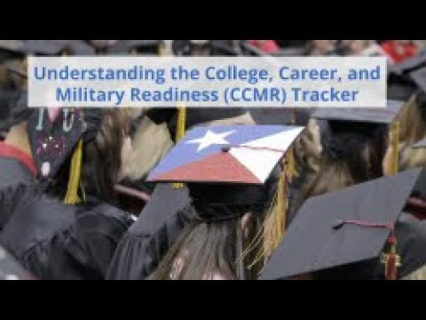 Understanding The College, Career, And Military Readiness CCMR Tracker