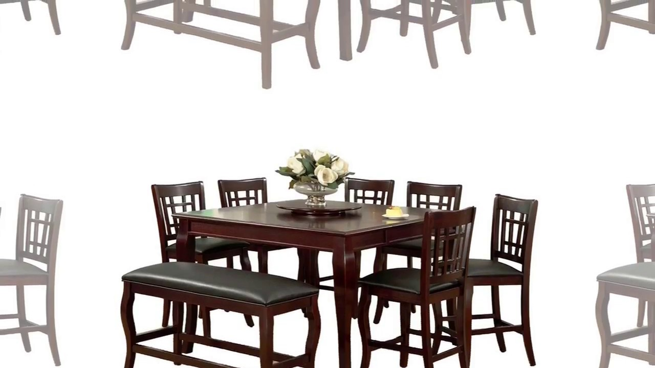 Dining Table With Lazy Susan Built In Grill